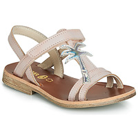Shoes Girl Sandals GBB SAPELA Vts / Pink/silver