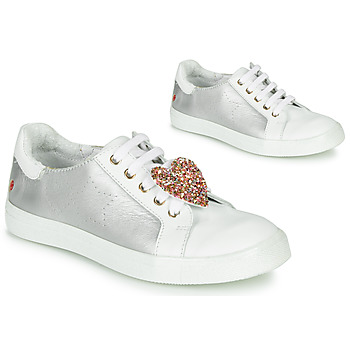 Shoes Girl Low top trainers GBB MUTA Silver