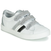 Shoes Girl Low top trainers GBB MADO White / Silver