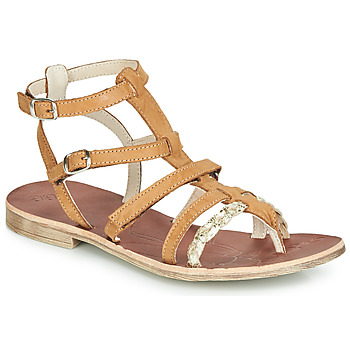Shoes Girl Sandals GBB NOVARA Brown