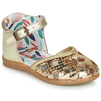 Shoes Girl Ballerinas Catimini NAYA Gold