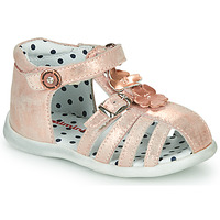 Shoes Girl Sandals Catimini VANUA Pink