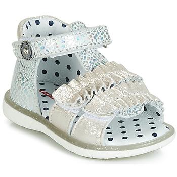 Shoes Girl Sandals Catimini BIRA Silver