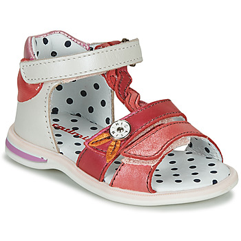 Shoes Girl Sandals Catimini GOROKA White