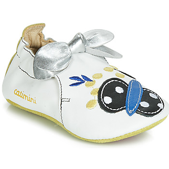 Shoes Girl Slippers Catimini CATIVA White