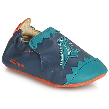 Shoes Boy Slippers Catimini CADANO Marine / Orange