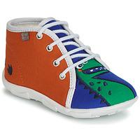 Shoes Boy Slippers GBB MARCCO Orange blue