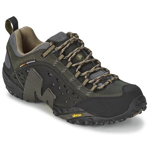 Shoes Men Hiking shoes Merrell INTERCEPT Black