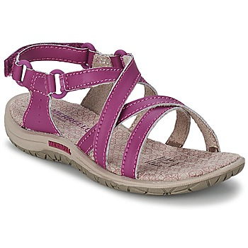 Shoes Girl Sports sandals Merrell JAZMIN KIDS Violet