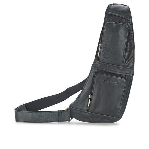 Bags Men Pouches / Clutches Arthur & Aston MIGUEL Black