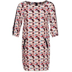 material Women Short Dresses Tom Tailor BERTA Multicoloured