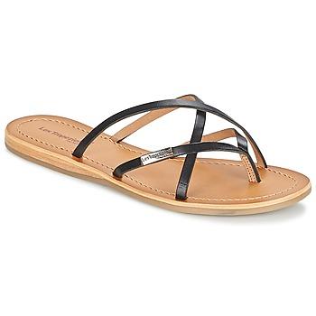 Shoes Women Flip flops Les Tropéziennes par M Belarbi BIP Black