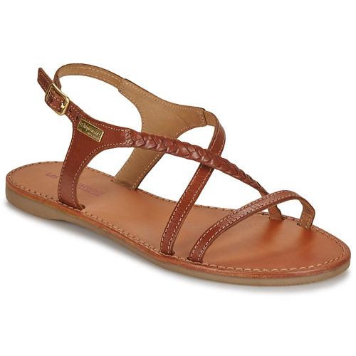 Shoes Women Sandals Les Tropéziennes par M Belarbi HANANO Tan