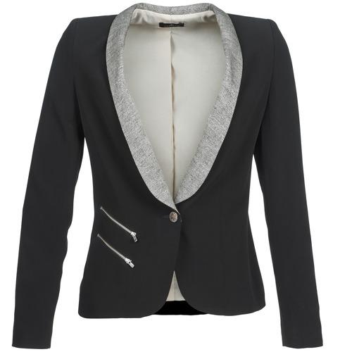 material Women Jackets / Blazers One Step VIOLON Black