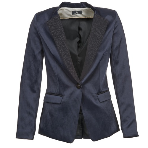 material Women Jackets / Blazers One Step VOICE Marine