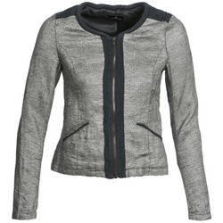 material Women Jackets / Blazers One Step VALSE Grey / MARINE