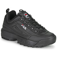 Shoes Men Low top trainers Fila DISRUPTOR LOW Black