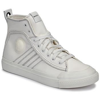 Shoes Men High top trainers Diesel S-ASTICO MID LACE White
