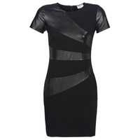 material Women Short Dresses Moony Mood JOULOU Black