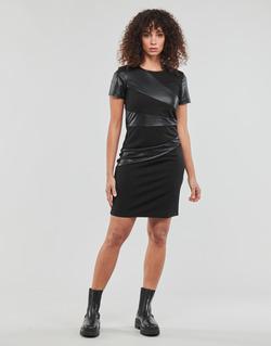 material Women Short Dresses Moony Mood JOULOU Black