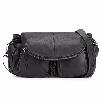 Messenger / Shoulder bags Nat et Nin LOLA Black 350x350