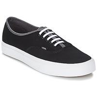 Shoes Men High top trainers Vans AUTHENTIC Black / Grey