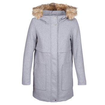 material Women coats Only ONLNOAH Grey