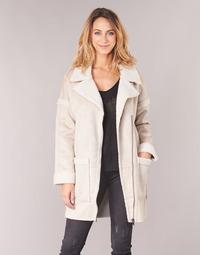 material Women coats Only ONLFELICITY Beige