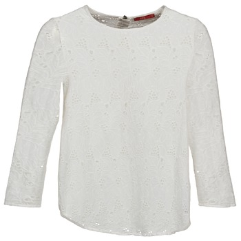 material Women Long sleeved shirts Esprit VASTAN White