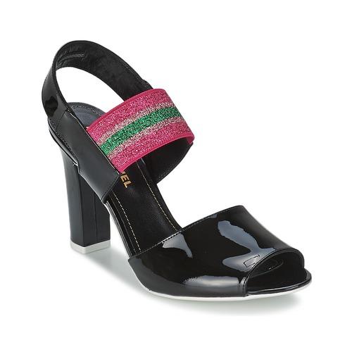 Shoes Women Sandals Sonia Rykiel 683902 Black / Pink
