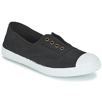 Shoes Women Low top trainers Victoria INGLESA ELASTICO TINTADA Black