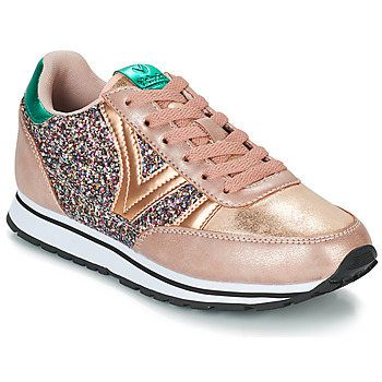 Shoes Women Low top trainers Victoria COMETA GLITTER Pink