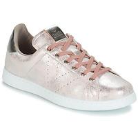 Shoes Women Low top trainers Victoria TENIS METALIZADO Pink / Metal