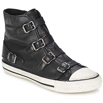 Shoes Women High top trainers Ash VIRGIN Black