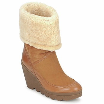 Shoes Women Ankle boots Ash VARUSHKA Camel