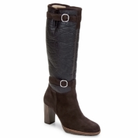 Shoes Women Boots Espace MANOR Brown