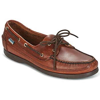 Shoes Men Boat shoes Sebago SCHOONER Brown