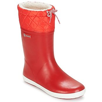 Shoes Children Snow boots Aigle GIBOULEE Red / White
