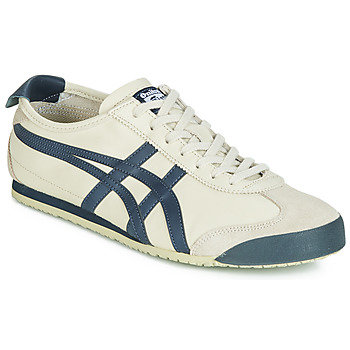 Shoes Low top trainers Onitsuka Tiger MEXICO 66 LEATHER Beige / Blue