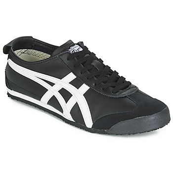 Shoes Low top trainers Onitsuka Tiger MEXICO 66 LEATHER Black / White
