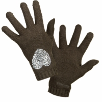 Accessorie Women Gloves Moschino 29849 Dark green