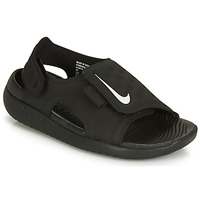 Shoes Children Low top trainers Nike SUNRAY ADJUST 5 Black
