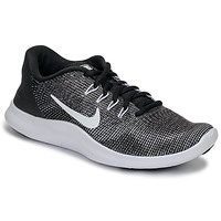 Shoes Women Multisport shoes Nike FLEX RUN 2018 Black / White