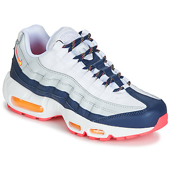 Shoes Women Low top trainers Nike AIR MAX 95 W White / Blue / Orange