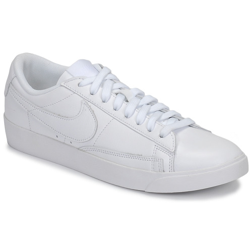 Cálculo En otras palabras Desgracia  Nike BLAZER LOW LEATHER W White - Fast delivery | Spartoo Europe ! - Shoes  Low top trainers Women 90,00 €