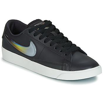 Shoes Women Low top trainers Nike BLAZER LOW LX W Black / Silver